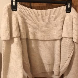 Urban Outfitters cold shoulder sweater